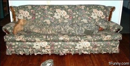 Camouflage Couch