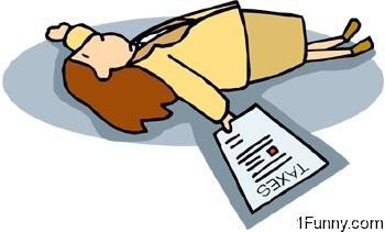 woman-fainted-taxes