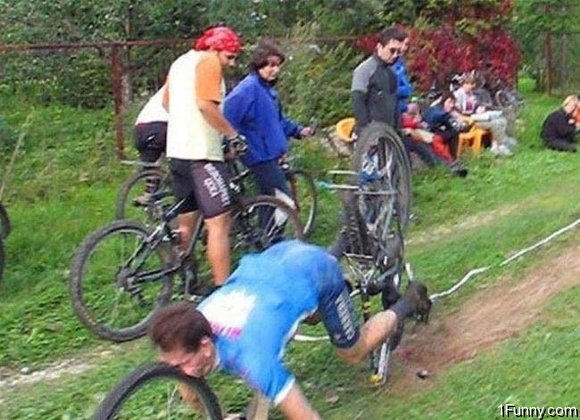 Bicycle Tire Face Plant – 1Funny.com