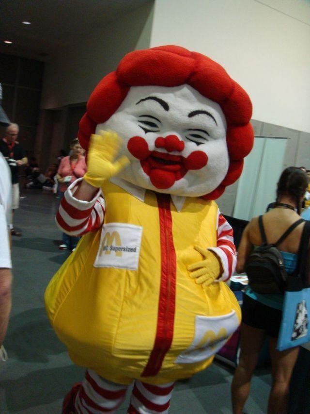 Ronald Mcdonald Fat 83