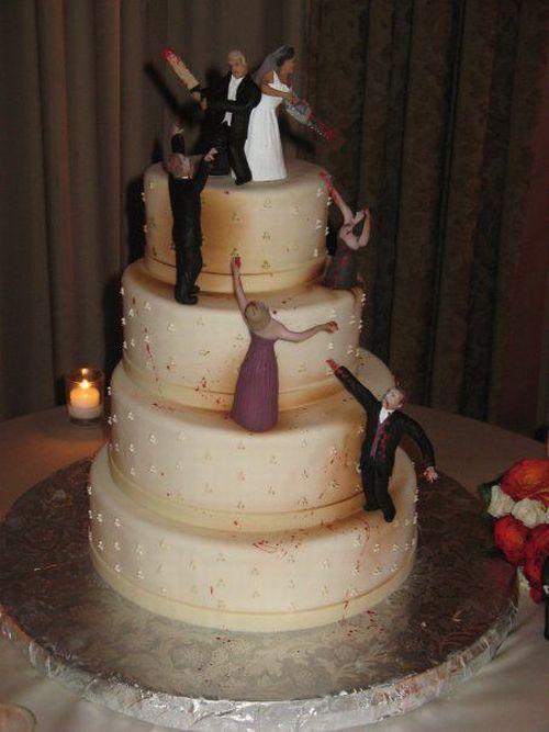 Zombie Wedding Cake 1funny Com