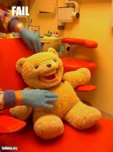 Scary Dentist Bear
