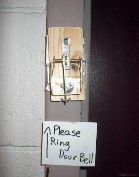 Door Bell Trap 1funny Com