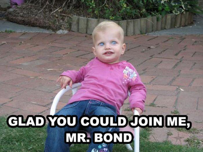 Fun Kid Meme : Evil kid u funny