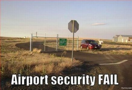 Airport Security Fail