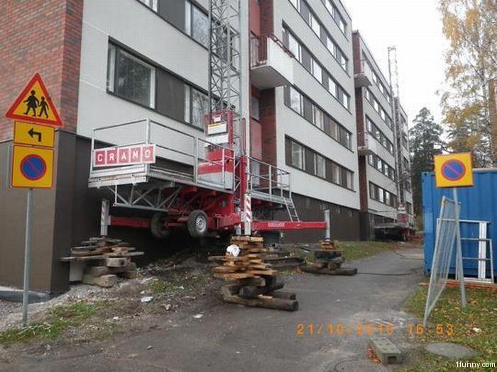 safe construction - 30+ funny unsafe construction photos