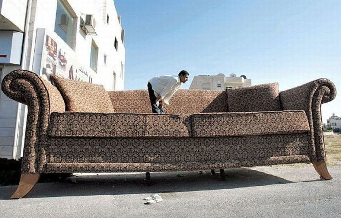 Big sofa for Funny sofa pictures
