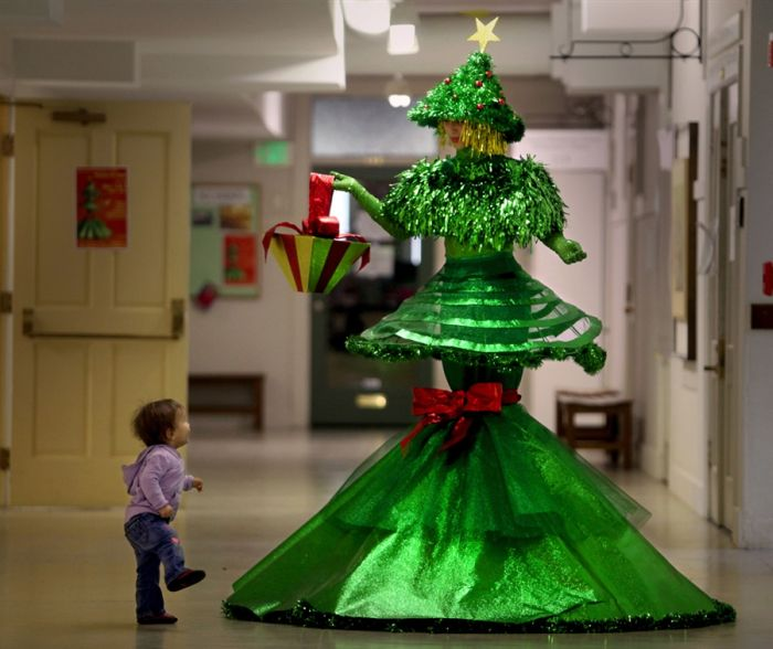christmas tree dress - Christmas Tree Dress