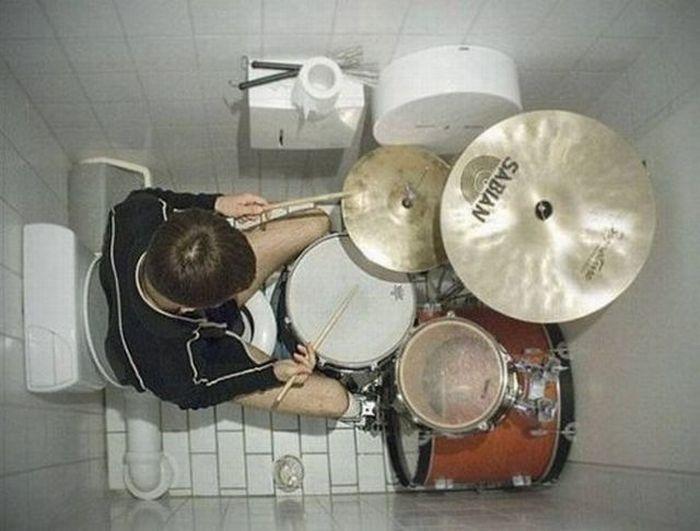 Toilet Drummer 1funny Com