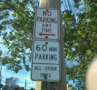 Contradictory Signs