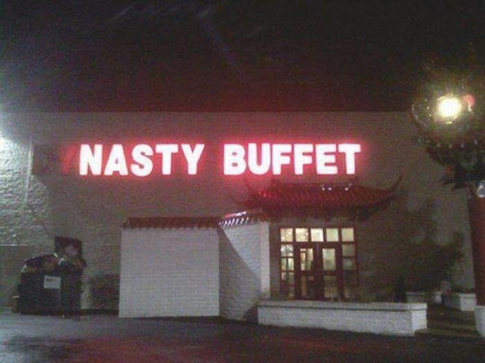 Nasty buffet