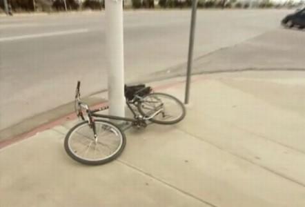 Unexplained Bicycle Lock