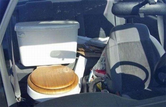 Toilet Car Seat 1funny Com