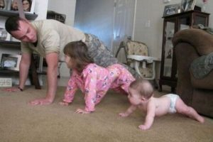family-pushups