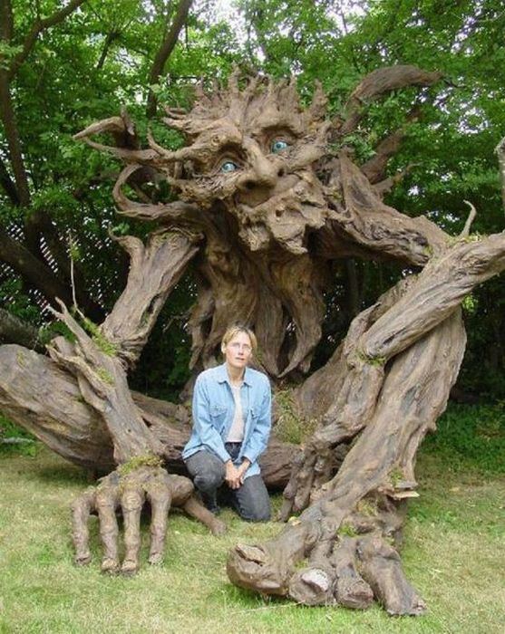 Images: Tree Man