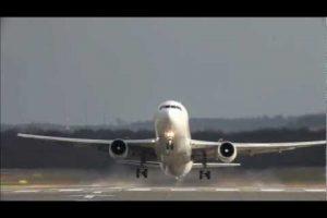 Crosswind Landings at Dusseldorf Airport