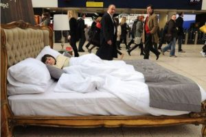 public-sleeping