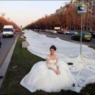 Longest Wedding Dress Ever