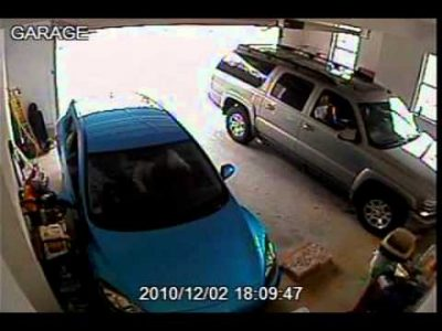 Backing Out of the Garage FAIL