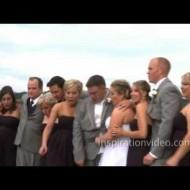 Wedding Party Falls into Lake