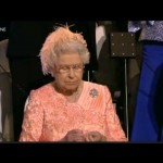 The Queen is Bored at the Olympics