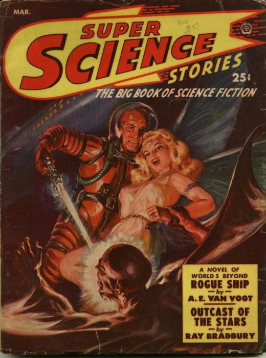 Vintage Covers of American Science Fiction Magazines