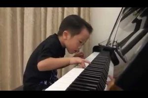 Amazing Child Pianist