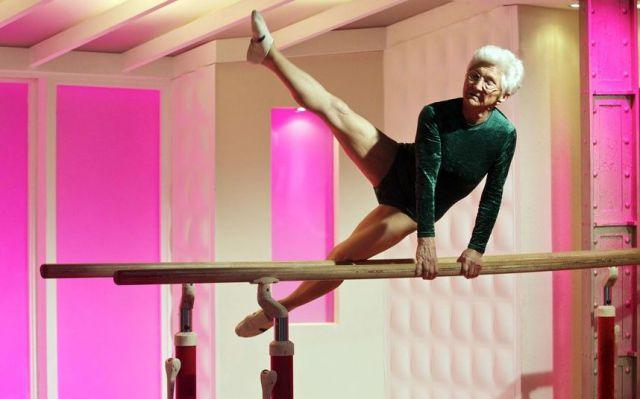 Grandma Gymnast 1funny Com