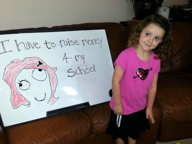 Memes help little girls school fundraising 640 02