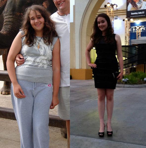 Как похудеть: истории похудения реальных людей с фото до и