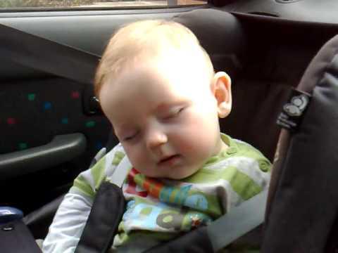 Cute Baby Fighting Sleep