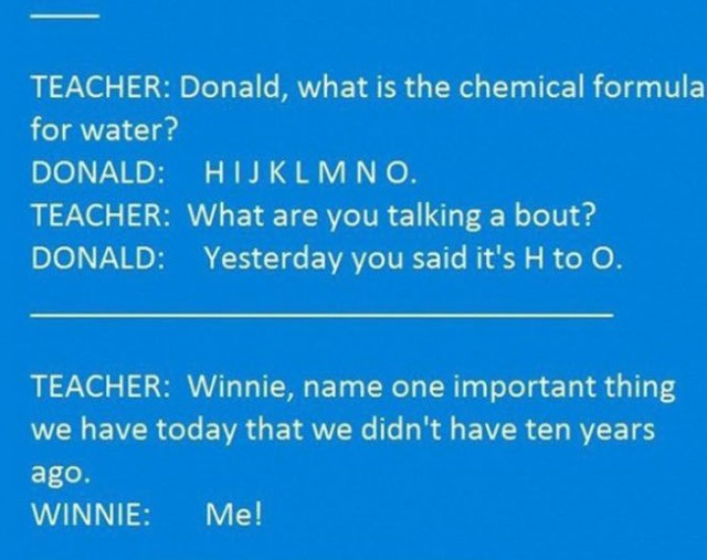 Our Teacher Asked What My Favorite Animal Was: Kids Vs. Teachers (10 Pics)
