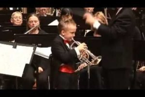 8 Year Old Trumpet Prodigy