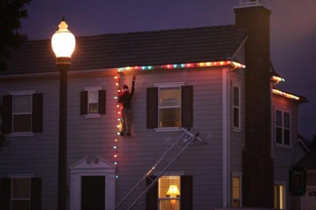 Christmas Window Lights Decorations