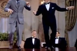 Great 1955 Dance Routine with James Cagney and Bob Hope   1Funny.com