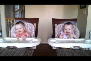 Dad Plays Guitar for Twins