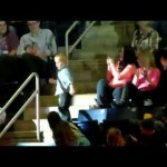 Boy Dancing at a Concert