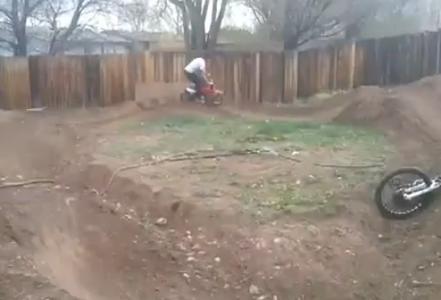 Bike Switching Stunt