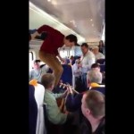 Dancing on a Dublin Train