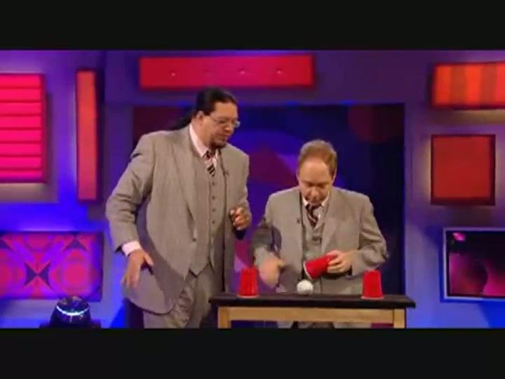 Penn & Teller Explain Cups & Balls
