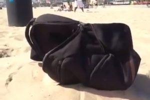 Rare Hermit Crab on the Beach thumbnail