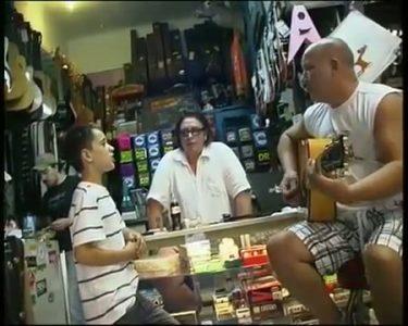 Young Brendon MacFarlane Surprises Guitar Shop Owner