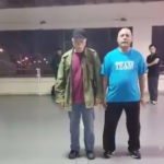 Grandfather Duo Bust out Awesome Dance Moves