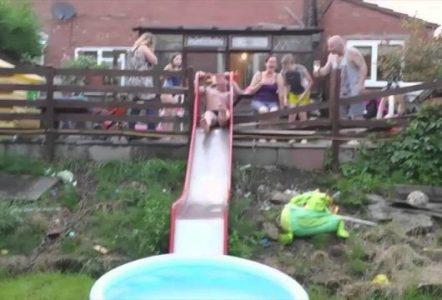 Dad-Breaks-Slide