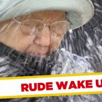 Granny Gets Woken Up with Bucket of Water !!