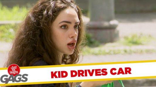 Bored-Kid-Drives-a-Car
