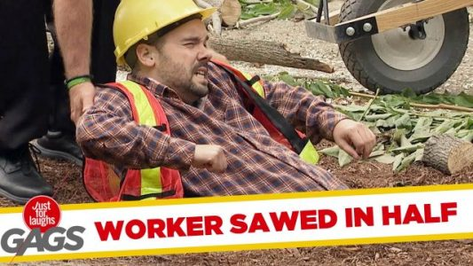 Construction-Worker-Sawed-in-Half-Just-for-Laughs-Gags