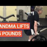 Amazing 90 Year Old Woman Deadlifts 185 Pounds