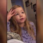 Adorable Toddler Scolds Her Dad for Leaving the Toilet Seat Up