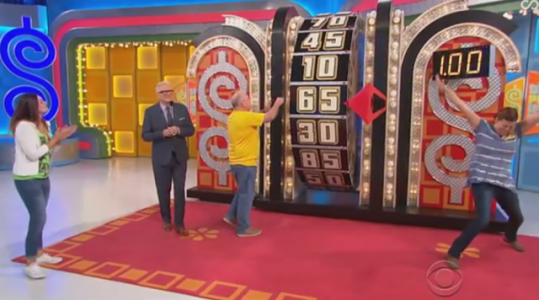 All Three Contestants on the Price Is Right Spin for $1.00